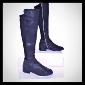 Alligator/Crocodile Snake skin Over the Knee boot!